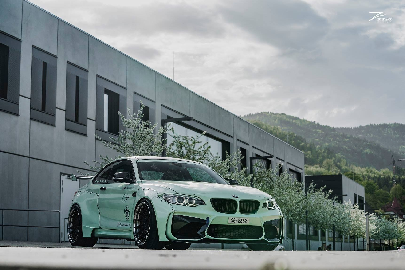 Gaya Nyeleneh <i>Wide Body</i> di BMW M2