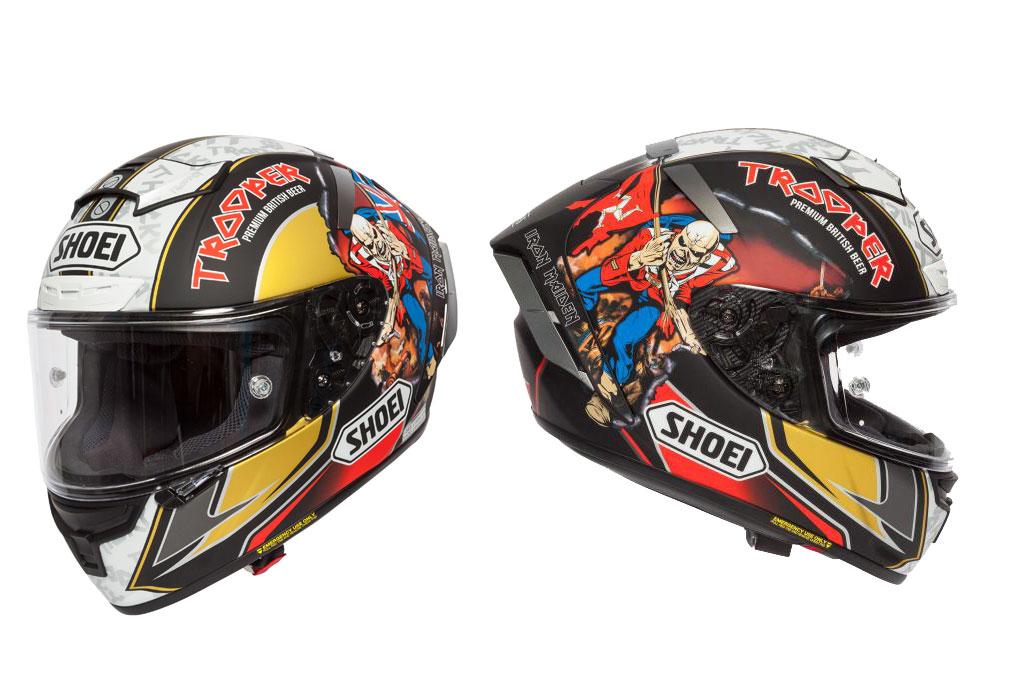 Shoei X-Spirit III, Helm untuk Penggemar Iron Maiden