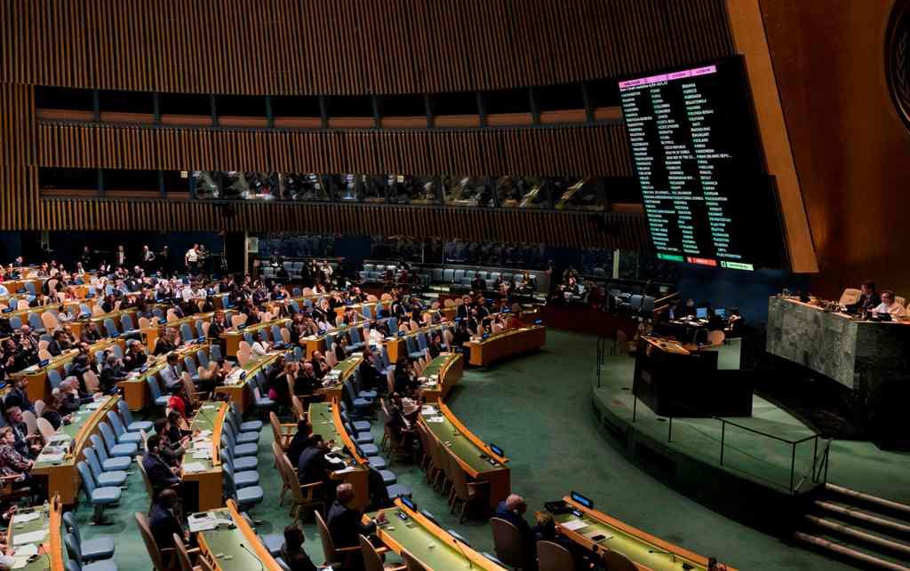 120 Negara Anggota PBB Kecam Serangan Israel ke Palestina