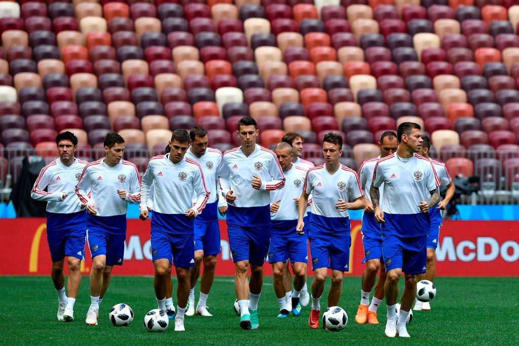 Menanti Duel Bersejarah Rusia versus Arab Saudi di Piala Dunia 2018