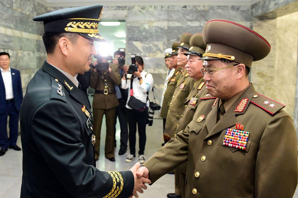 Militer Korsel-Korut Bertemu di Zona Demiliterisasi