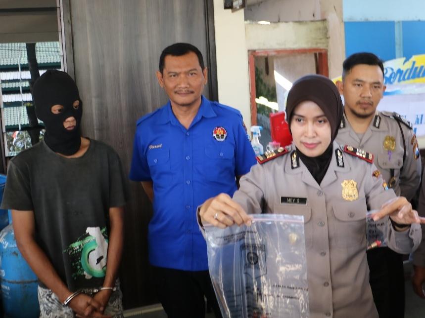 Penjual Elpiji Oplosan di Malang Ditangkap