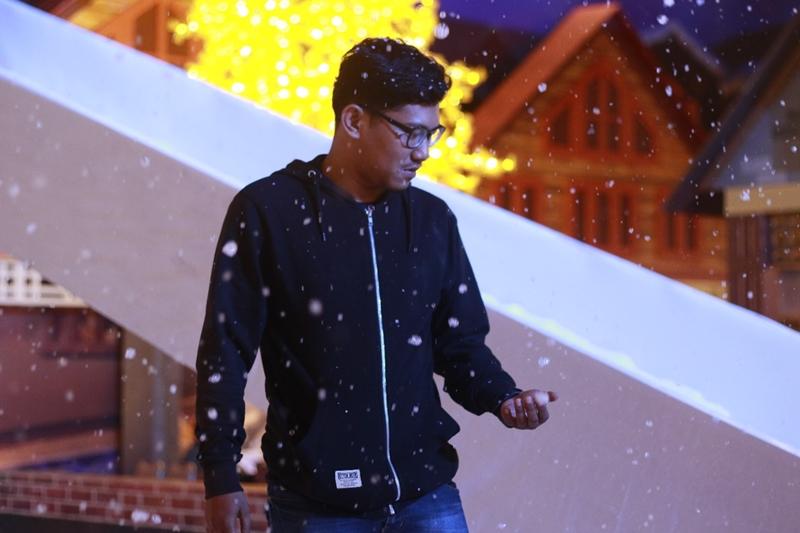 Yuk, Bermain Salju di Malang