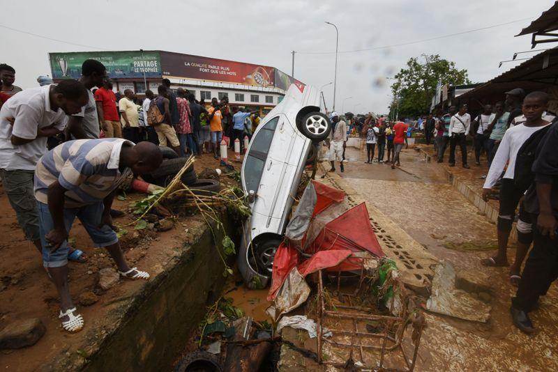 Banjir Hantam Pantai Gading, 15 Warga Tewas