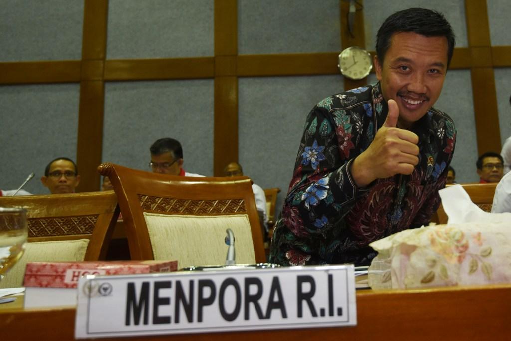 Menpora: Persiapan Asian Games Sudah 96 Persen