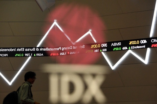 JCI Down 0.21% in FIrst Session