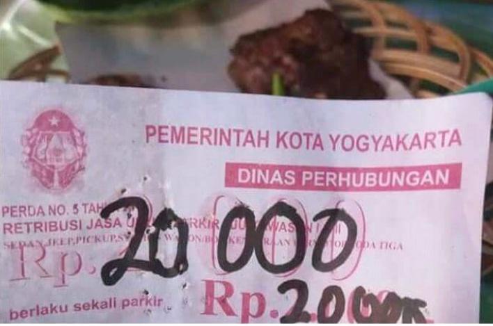 Juru Parkir Nakal di Yogyakarta Ditindak