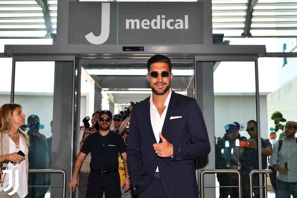 Emre Can Tiba di Markas Juventus