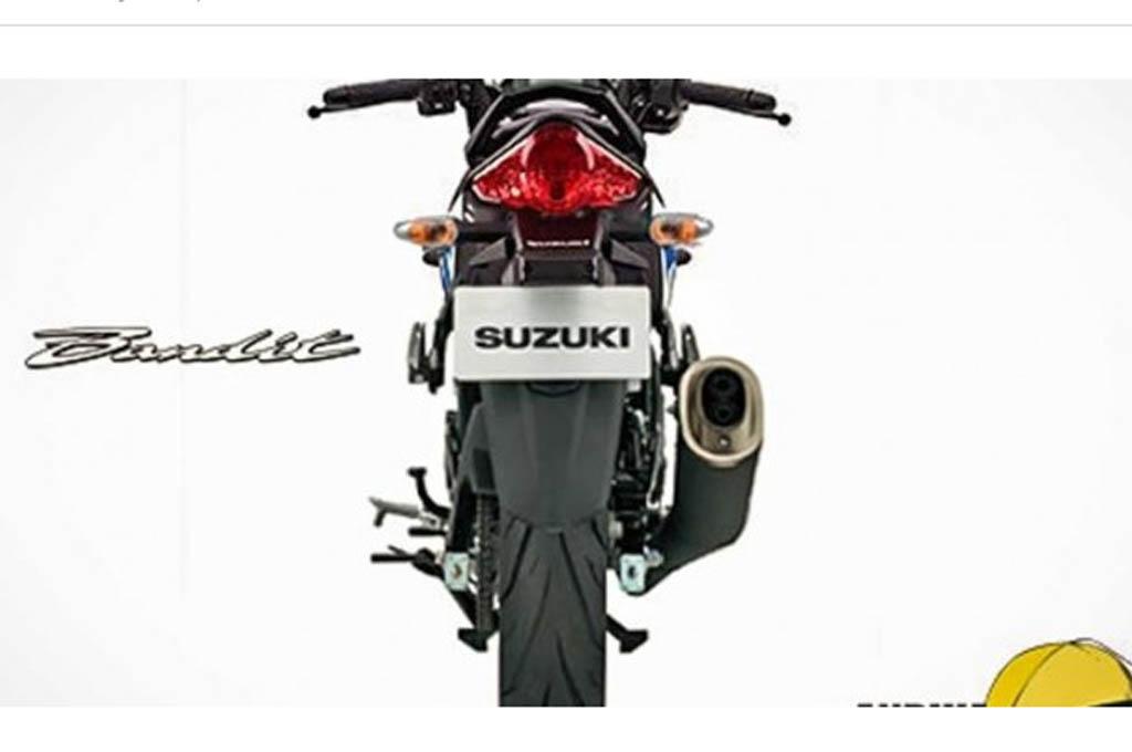 Rekayasa Desain Suzuki Bandit 150 Indonesia Beredar