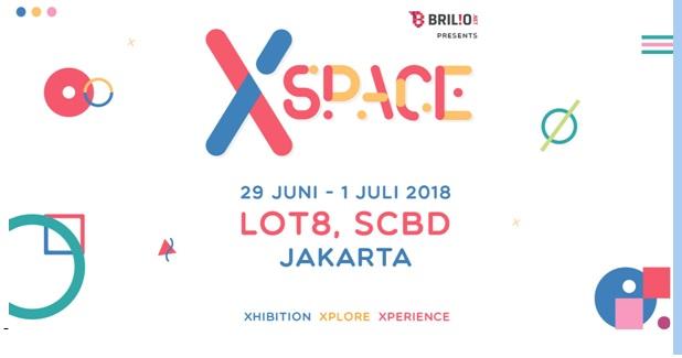 XSpace By Brilio Hadirkan Ragam Seni dan Konser Musik