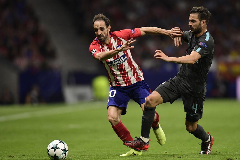 Atletico Madrid Tambah Kontrak Juanfran