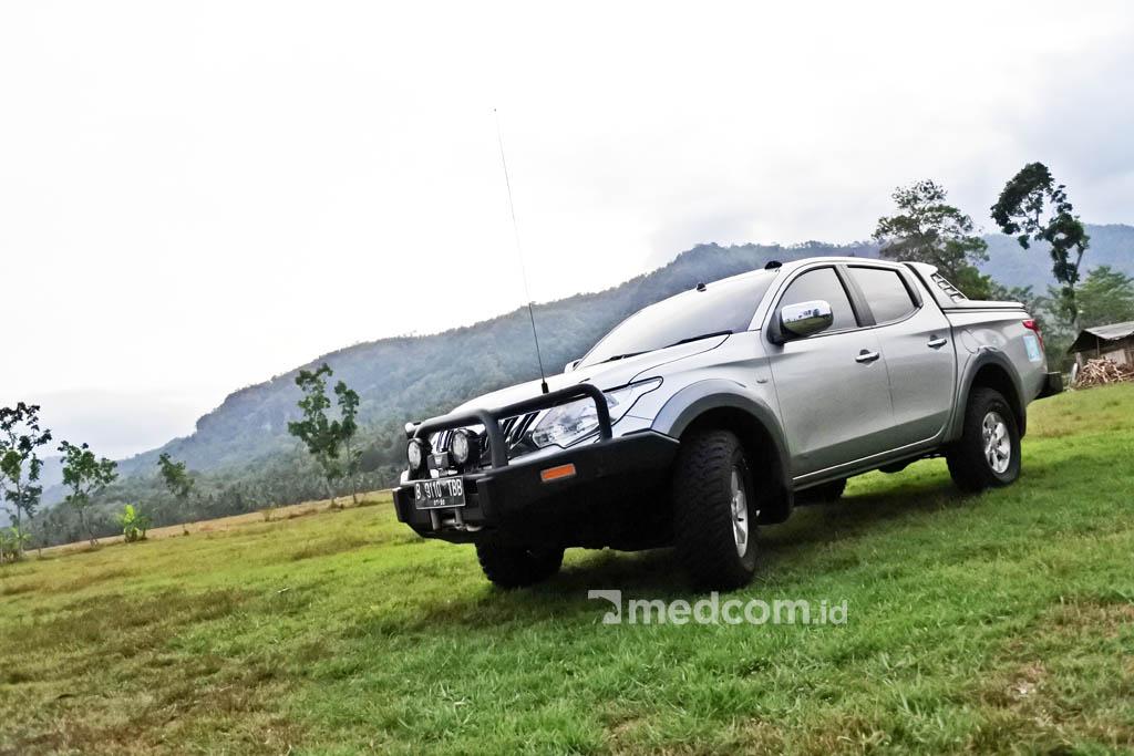 Perjalanan Mudik jadi Anti Mainstream Pakai Mitsubishi Triton