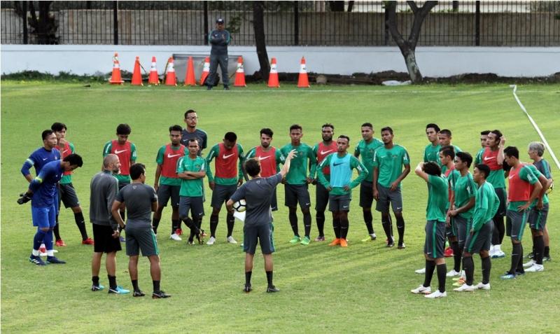 Susunan Pemain Indonesia U-23 vs Korsel U-23