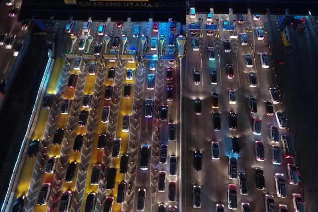 108 Ribu Kendaraan Kembali ke Jakarta Hari Ini