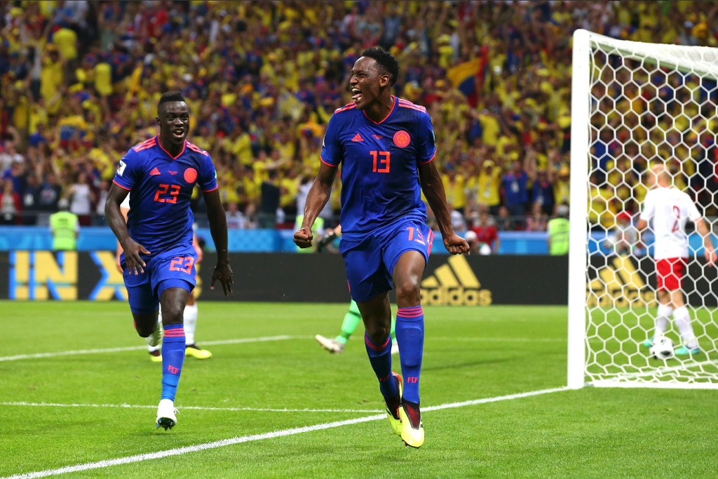 Kolombia Unggul atas Polandia, Gol Bek Barcelona jadi Pembeda