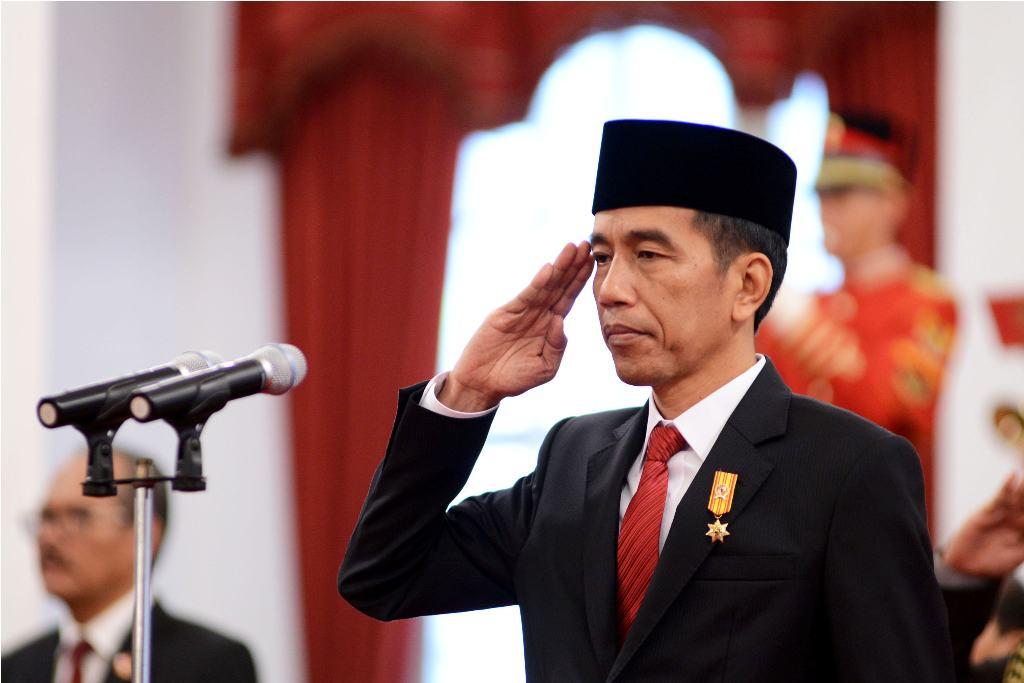 Jokowi Terima Menlu Jepang