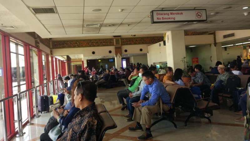 Penerbangan di Bandara Juanda Sempat Mengalami Penundaan