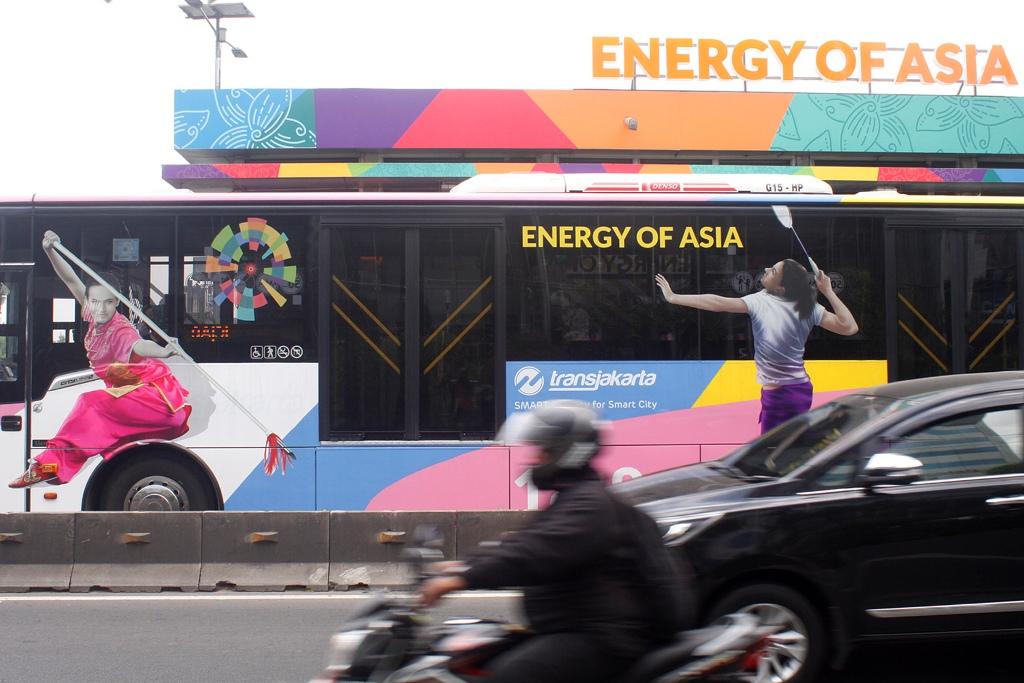 TransJakarta Siap Kawal Asian Games 2018