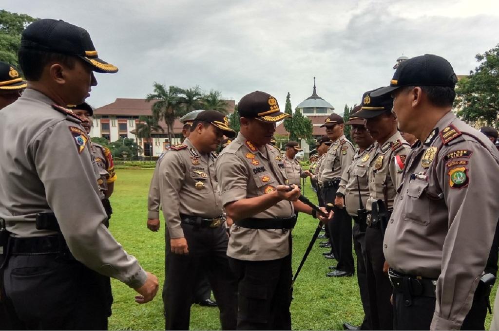 Polisi dari Jakarta Bantu Amankan Pilkada di Depok