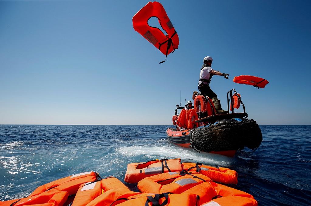 Lebih dari 600 Imigran Diselamatkan di Mediterania