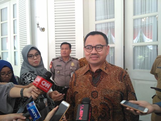 Jelang Pilkada, Sudirman Said Main ke Kantor Anies