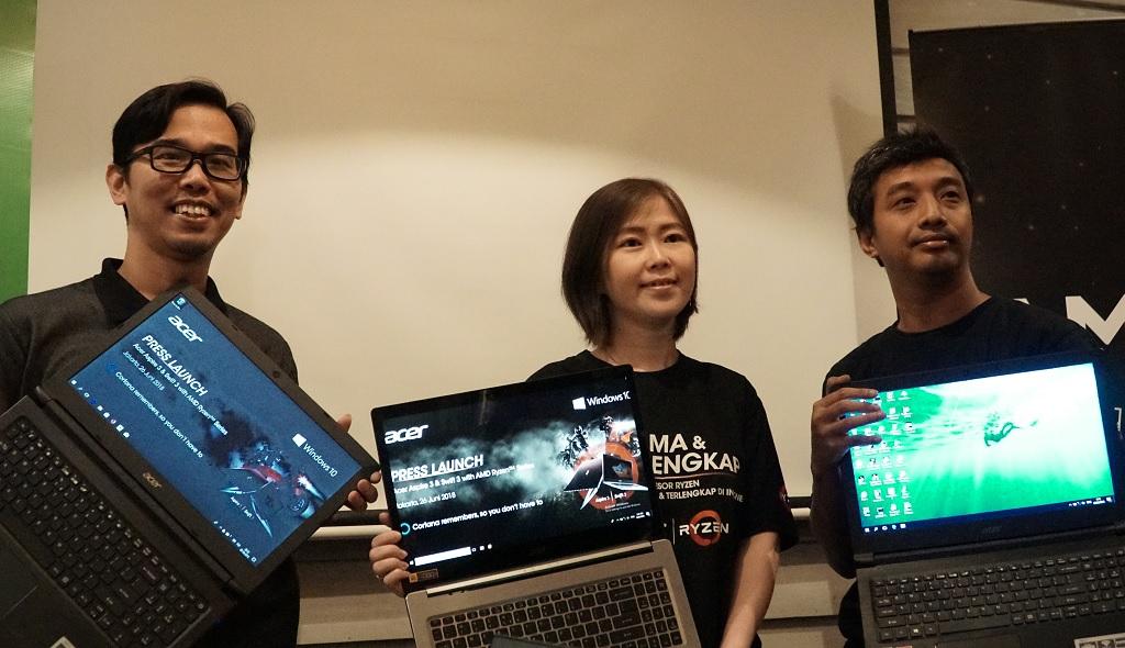 Acer Pamerkan Aspire 3 dengan Ryzen 3 untuk Kelas Pemula