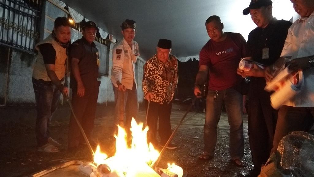 KPU Bogor Musnahkan 632 Surat Suara Rusak
