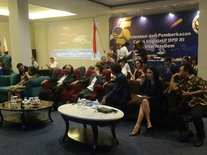 NasDem Gelar Nonton Bareng Hitung Cepat Pilkada 2018