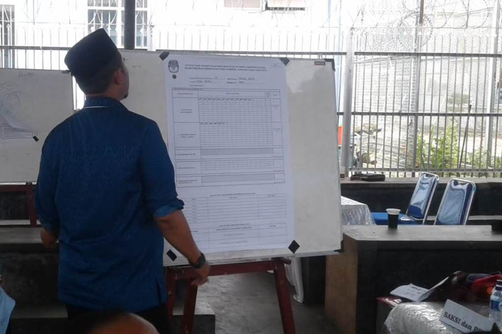 Eramas Ungguli Djoss di Lapas Tanjung Gusta Medan