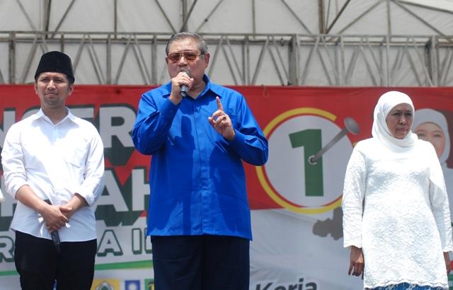 SBY Minta Khofifah Rangkul Semua Warga Jatim