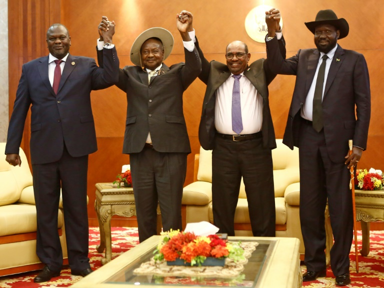 South Sudan Foes Agree 'Permanent' Ceasefire within 72 Hours