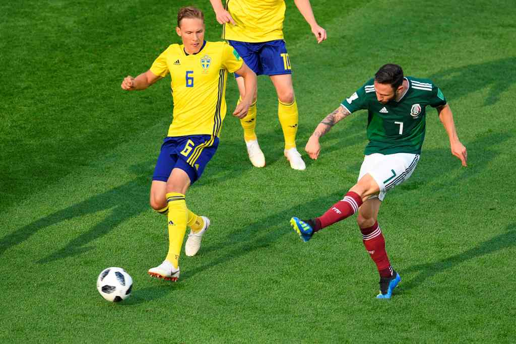 Dicukur Swedia, Meksiko Tetap Lolos 16 Besar Piala Dunia 2018