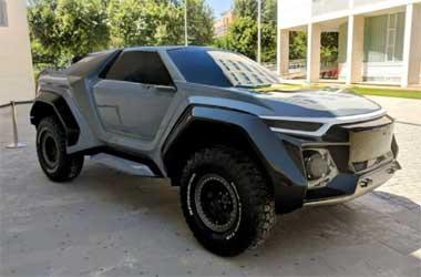 DSD Golem Concept, SUV Futuristik Karya Mahasiswa