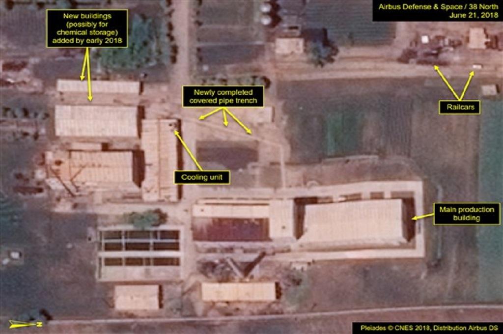 Foto Satelit Perlihatkan Pengembangan Fasilitas Nuklir Korut