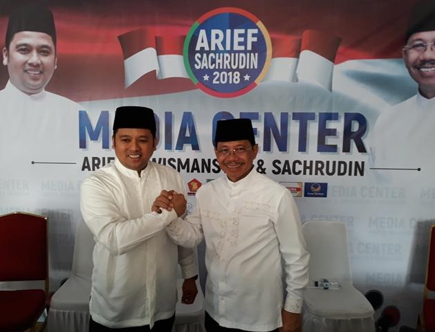 Arief-Sachrudin Menang dengan Bermodal Rp1,8 Miliar
