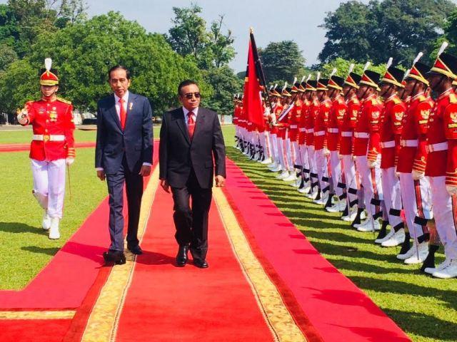 Jokowi Receives Timor Leste President, Praises Strong Relations