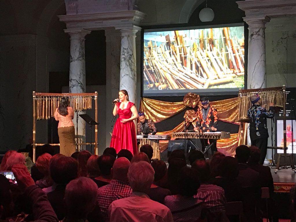 Kolaborasi Angklung dan Musik Klasik Eratkan Hubungan RI-Austria