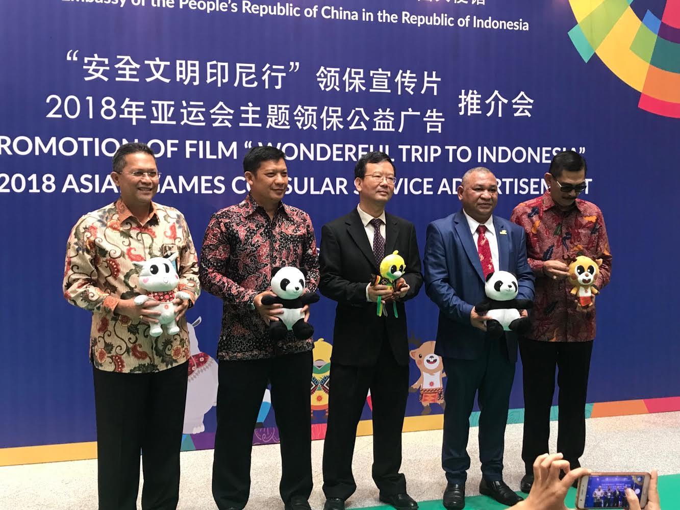 Jelang Asian Games, Tiongkok Manfaatkan Informasi Konsuler melalui Animasi