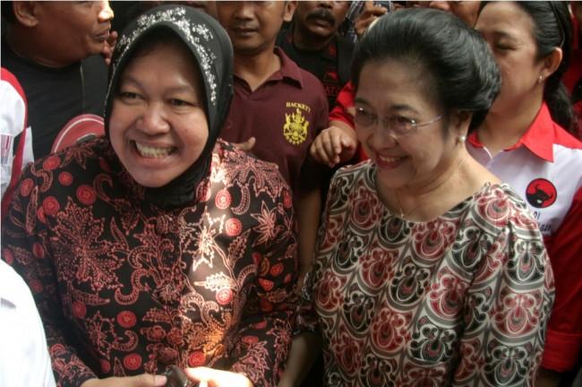 Risma Laporkan Kejanggalan Pilkada Jatim ke Megawati
