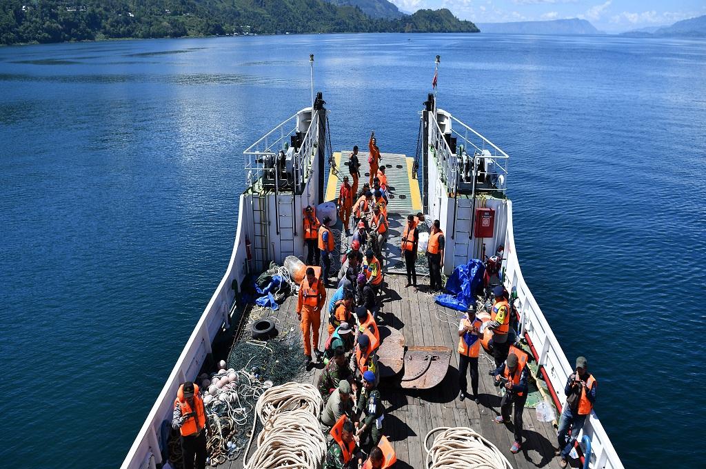 Wonni Berharap Keluarganya Tenggelam di Danau Toba Ditemukan