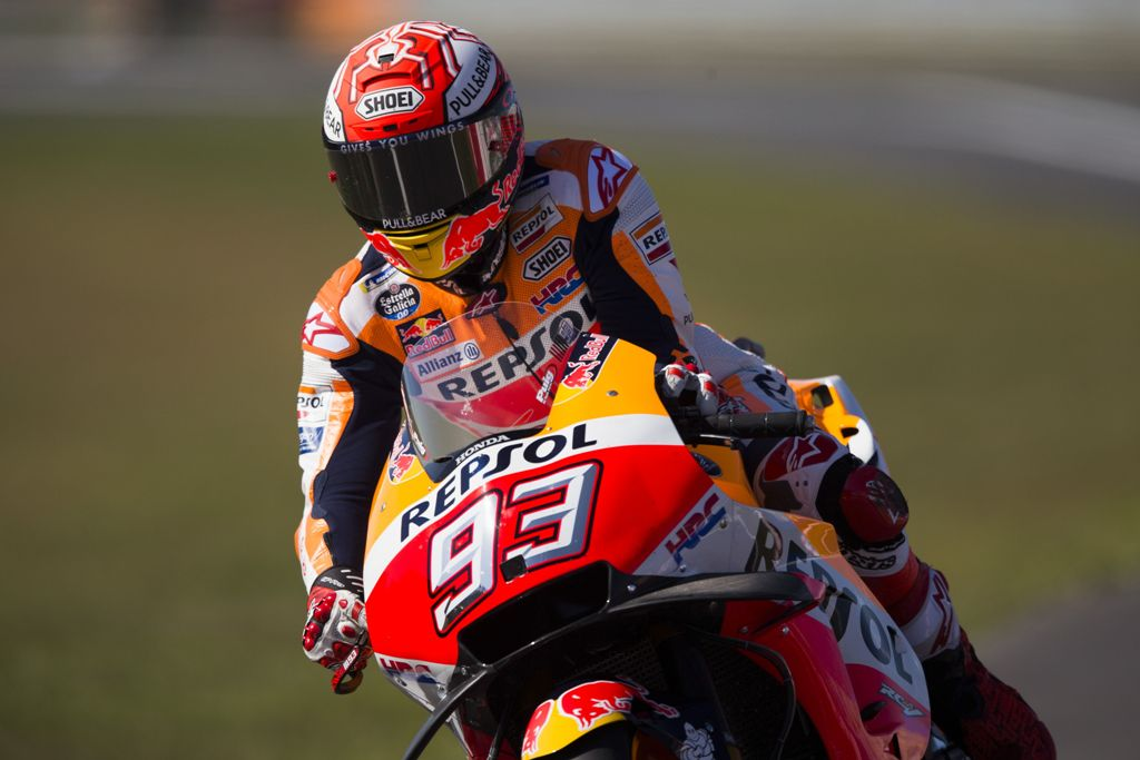 Marc Marquez Akhiri Puasa Pole Position