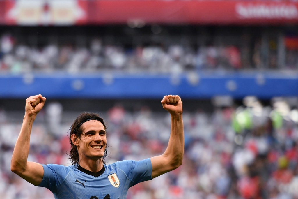 Sepasang Gol Cavani antar Uruguay ke Perempat Final