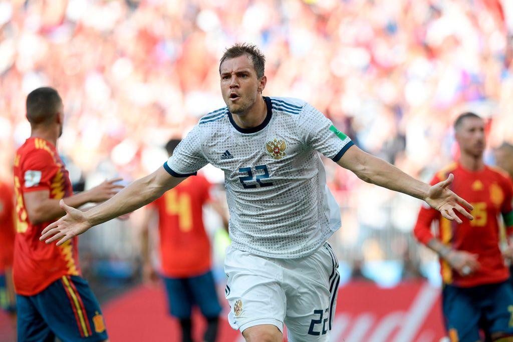 Kejutan, Rusia Singkirkan Spanyol dan Melaju ke Perempat Final
