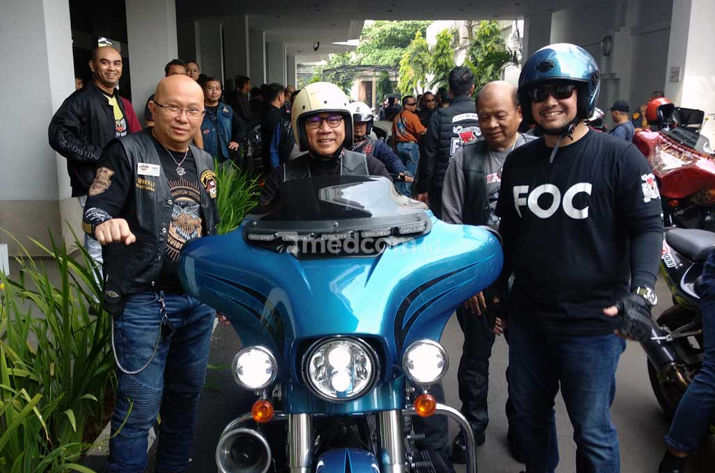 Ketua MPR Zulkifli Hasan jadi Bikers
