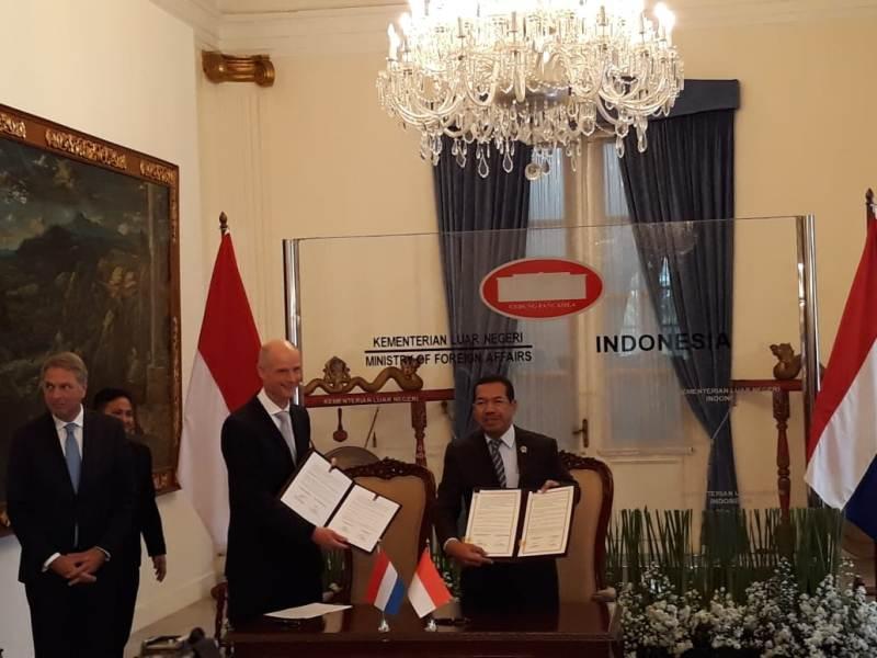 Indonesia-Belanda Sepakati Kerja Sama Bidang Keamanan Siber