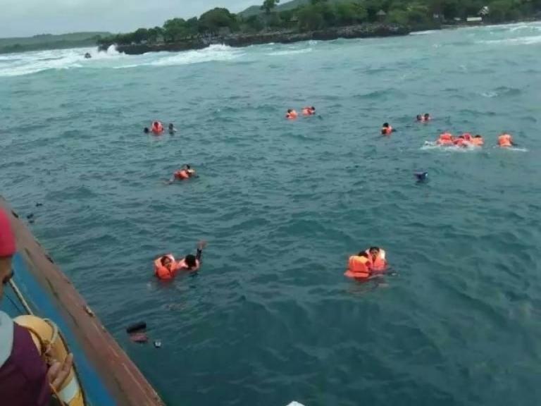 KM Lestari Maju Kapal Barang yang Dimodifikasi