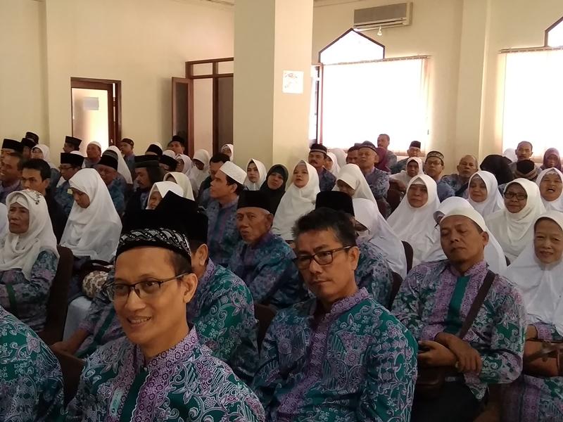 Sebagian Besar Calon Jemaah Haji DIY di Atas 50 Tahun