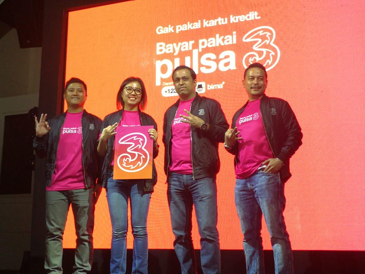 Potong Pulsa, Strategi Tri Dongkrak Milenial Konsumsi Konten Digital