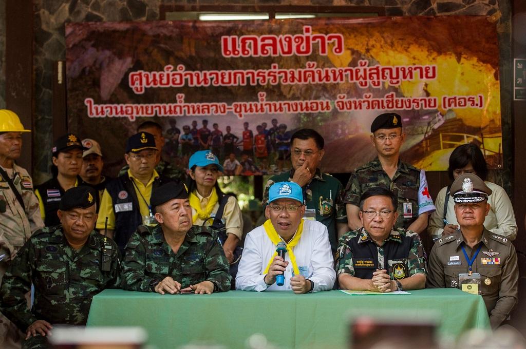 Thailand Main Aman dalam Penyelamatan 13 Orang di Gua