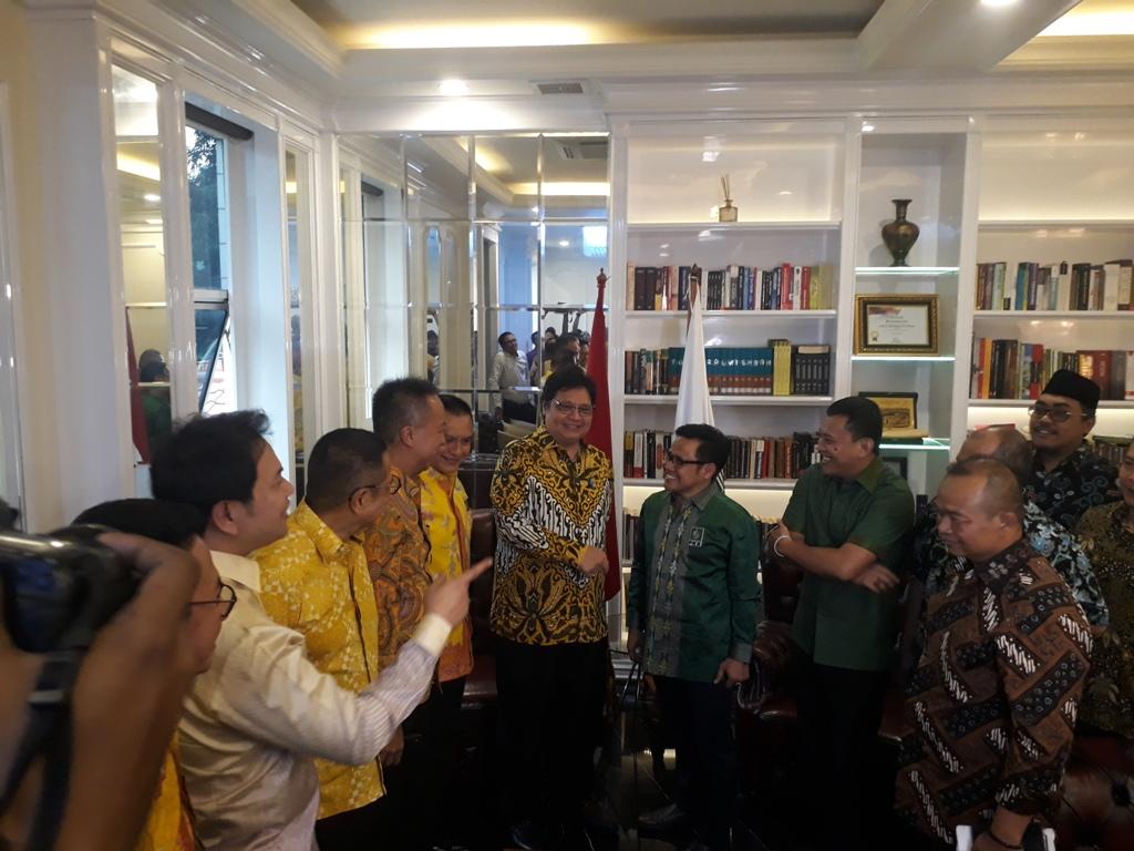 Golkar-PKB Satu Napas terhadap Jokowi